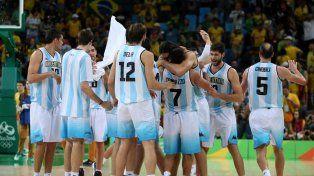 Argentina le ganó a Brasil en emocionante suplementario