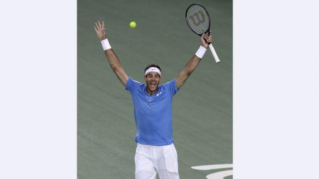 Del Potro venció a Nadal y juega por la dorada con Murray