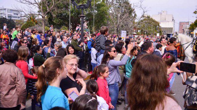 La Fanfarria Alto Perú brindó su primer espectáculo en Paraná