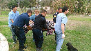 Policías salvaron la vida de un nene de 11 años