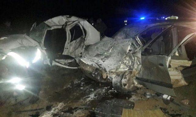 Tres personas fallecidas en un choque frontal al norte de Concordia