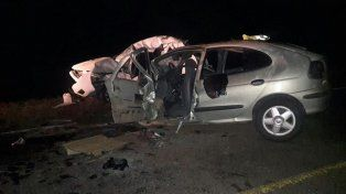 Confirmaron la identidad de la pareja de jóvenes que falleció en un choque