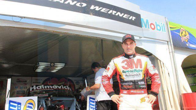 Mariano Werner se quedó con la carrera del millón de pesos en Rafaela