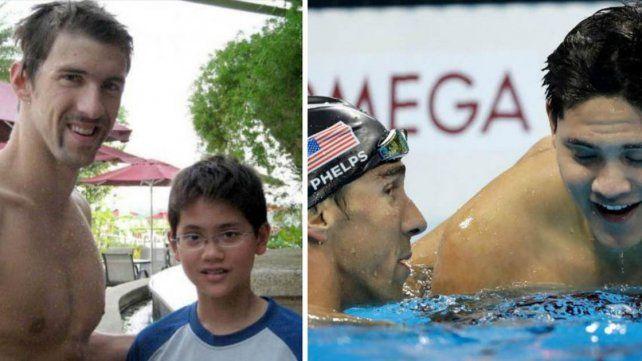 A los 13 años le pidió una foto a Michael Phelps y ahora le arrebató el oro
