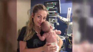 Una mamá donó más de 500 litros de leche materna a un hospital luego de que su bebé muriera