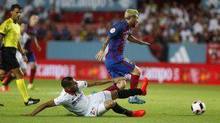 Barcelona le ganó al Sevilla el partido de ida por la Supercopa española
