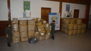 Frenaron contrabando de mercadería valuada en más de 3 millones de pesos
