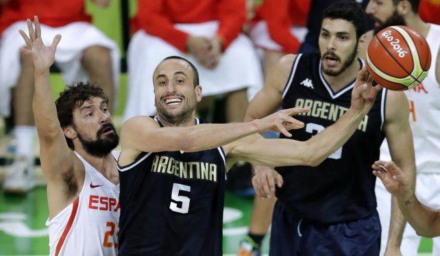 Argentina perdió con España en el cierre de la primera fase
