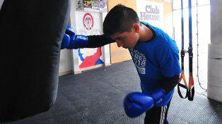 De estreno. Benjamín Villanueva tiene 16 años y estará debutando el viernes en Colón en 54 kilogramos.