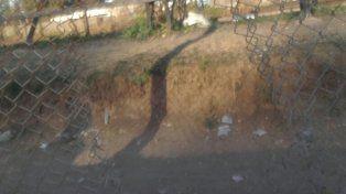 Los incidentes opacaron la fiesta en barrio Rocamora
