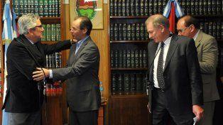 Asumió Federico Tomas como presidente provisorio del Tribunal de Cuentas