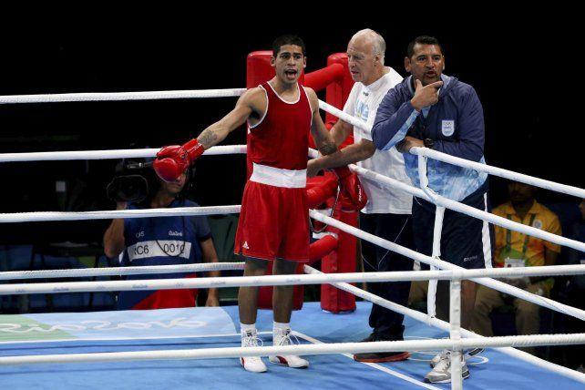 Melián perdió en cuartos de final y el boxeo argentino le dijo adiós a Río 2016