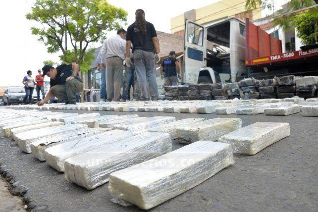 Condenaron a la banda del camión con 605 kilos de marihuana
