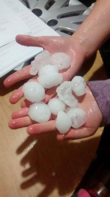El Gobierno envió ayuda a las familias afectadas por el temporal del martes