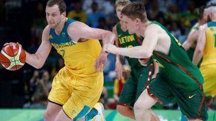 La deshonesta Lituania perdió por paliza ante Australia