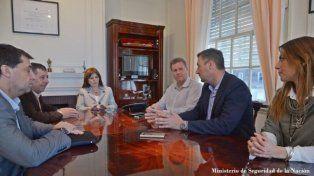 Caso Hein: Patricia Bullrich recibió al intendente de Basavilbaso