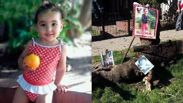 Una nena de dos años murió aplastada por la rama de un árbol