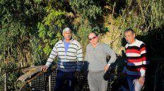 Barranca de fondo. Gile, Costa y Rivero junto a otros, dieron cuenta de sus problemas cotidianos.
