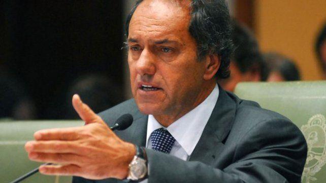 Scioli: Muchos sectores que se dejaron llevar por la Revolución de la Alegría ahora están preocupados