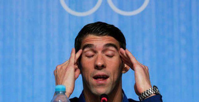 A Phelps le costó caro hacer historia