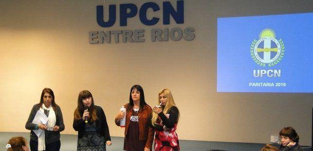 Allende aseguró que el Gobierno incluyó los pedidos que se realizaron en las reuniones previas. Foto UPCN.
