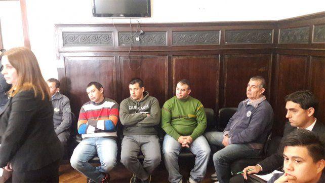 El fiscal pidió ocho años de prisión para los acusados.