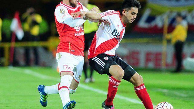 River rescató un valioso empate en Colombia en su búsqueda de la Recopa