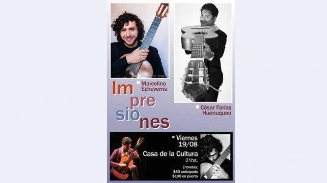 Impresiones, un recital de guitarras para disfrutar este viernes en Paraná
