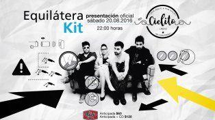 La banda paranaense Equilátera presenta su primer disco