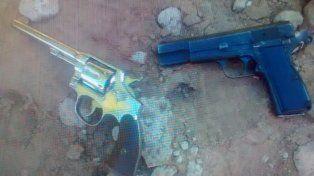 Frustrado. Los asaltantes llegaron al campo de Las Cuevas en una Hilux robada y con armas de fuego.