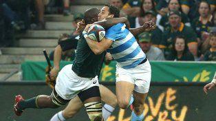 Los Pumas no pudieron con Sudáfrica en el primer partido del Championship