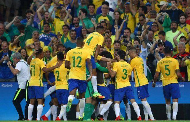 Brasil consiguió el oro, el título que le faltaba