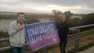 Celebrar la vida. Nicolás y Fátima procuran reivindicar la esperanza con su testimonio.