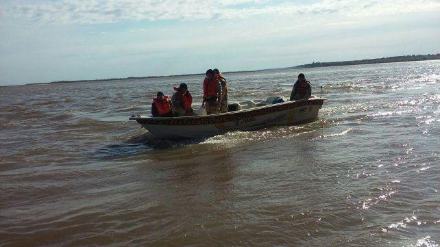 Operativo para reducir la depredación del río Paraná