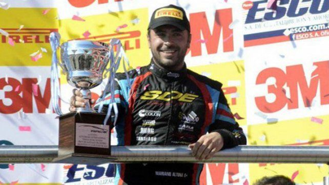 Mariano Altuna se quedó con la carrera del Top Race V6
