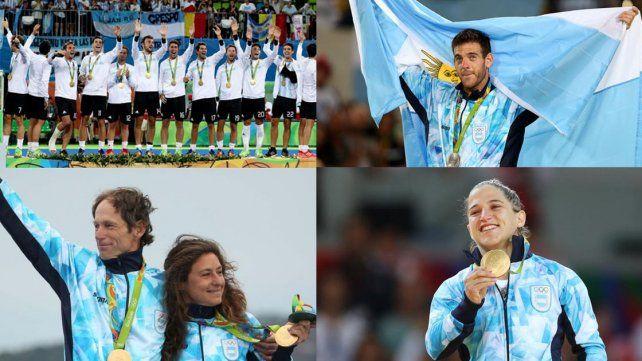 Argentina terminó en la posición 25° del medallero olímpico
