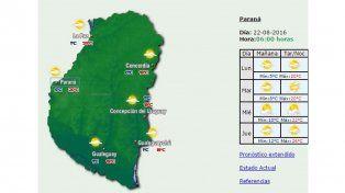 Jornada con sol y una máxima de 20 grados en la provincia
