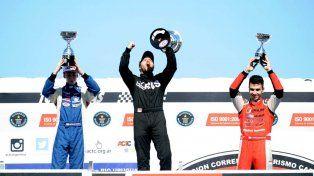 Maxi Vivot y Ayrton Londero ganaron en las pruebas del TC Mouras y TC Pistas Mouras respectivamente.