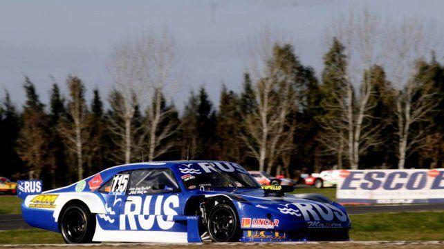 A bordo de un Chevrolet el piloto de Concepción del Uruguay alcanzó su primer éxito en la divisional.