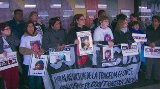 Familiares de la tragedia de Once: No nos temblará la voz para denunciar