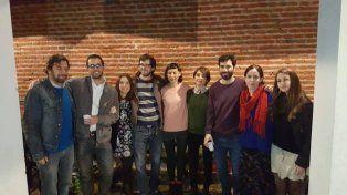 Artistas y editores en La Hendija