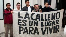 personas en situacion de calle se manifestaran contra el maltrato policial