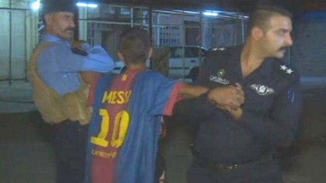 Niño bomba: planeaba inmolarse vistiendo la camiseta de Messi