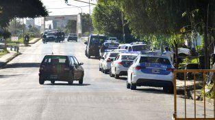Dos familias se enfrentaron a balazos en la Villa 351 y cortaron la calle