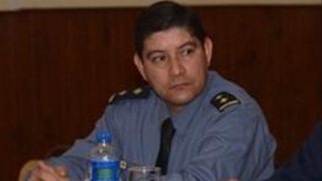El ex comisario Sergio David