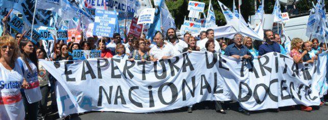 Agmer adhirió al paro nacional docente convocado por Ctera