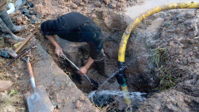 No hay agua en la zona sur de Paraná