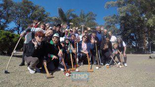 El grupo de la Sampe practicó hoy a la mañana. Foto UNOJuan Manuel Kunzi.