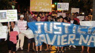 Familiares y amigos de Javier piden justicia.