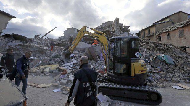 Italia sacudida por un sismo